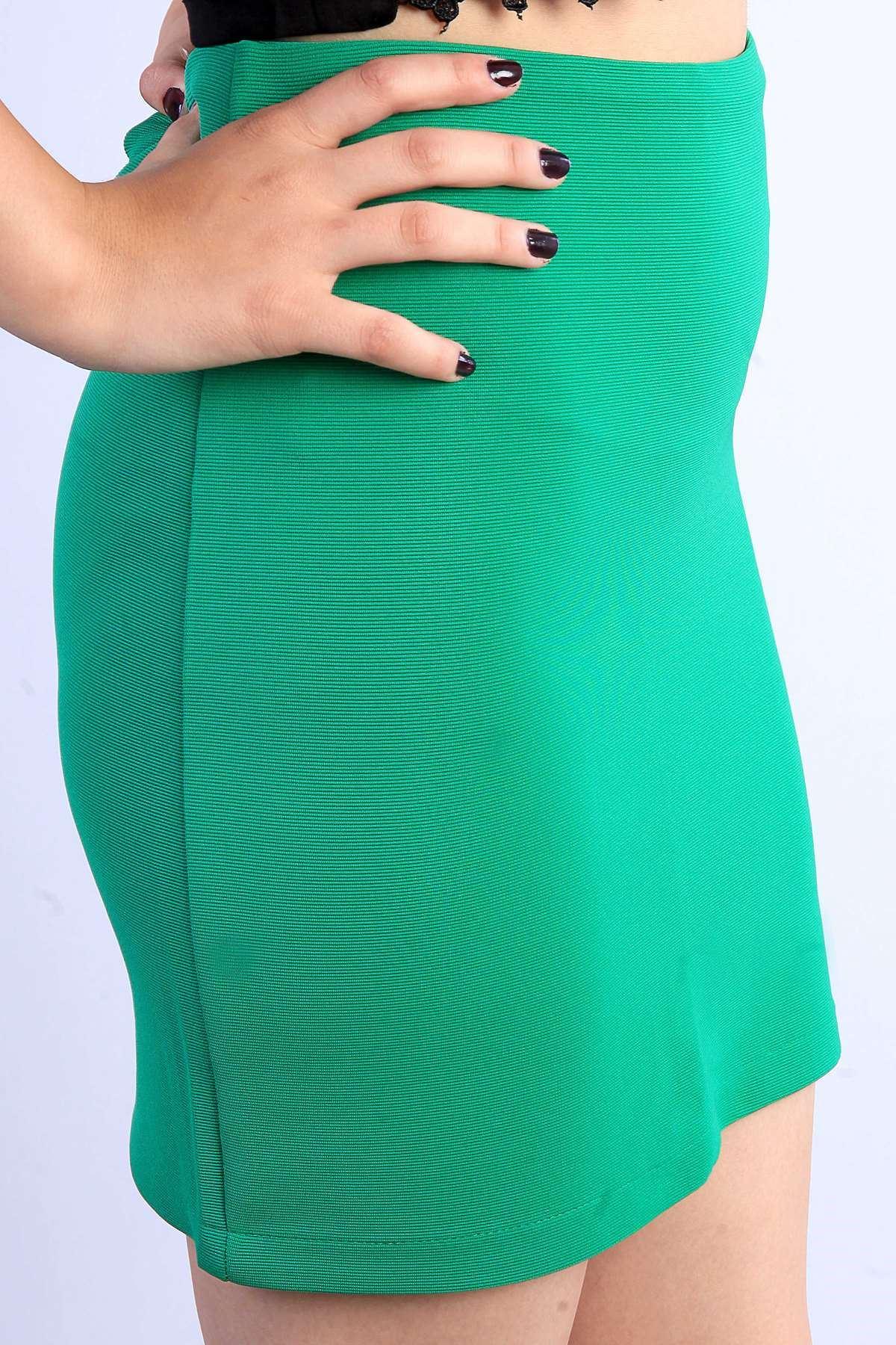 Basic Mini Etek Yeşil