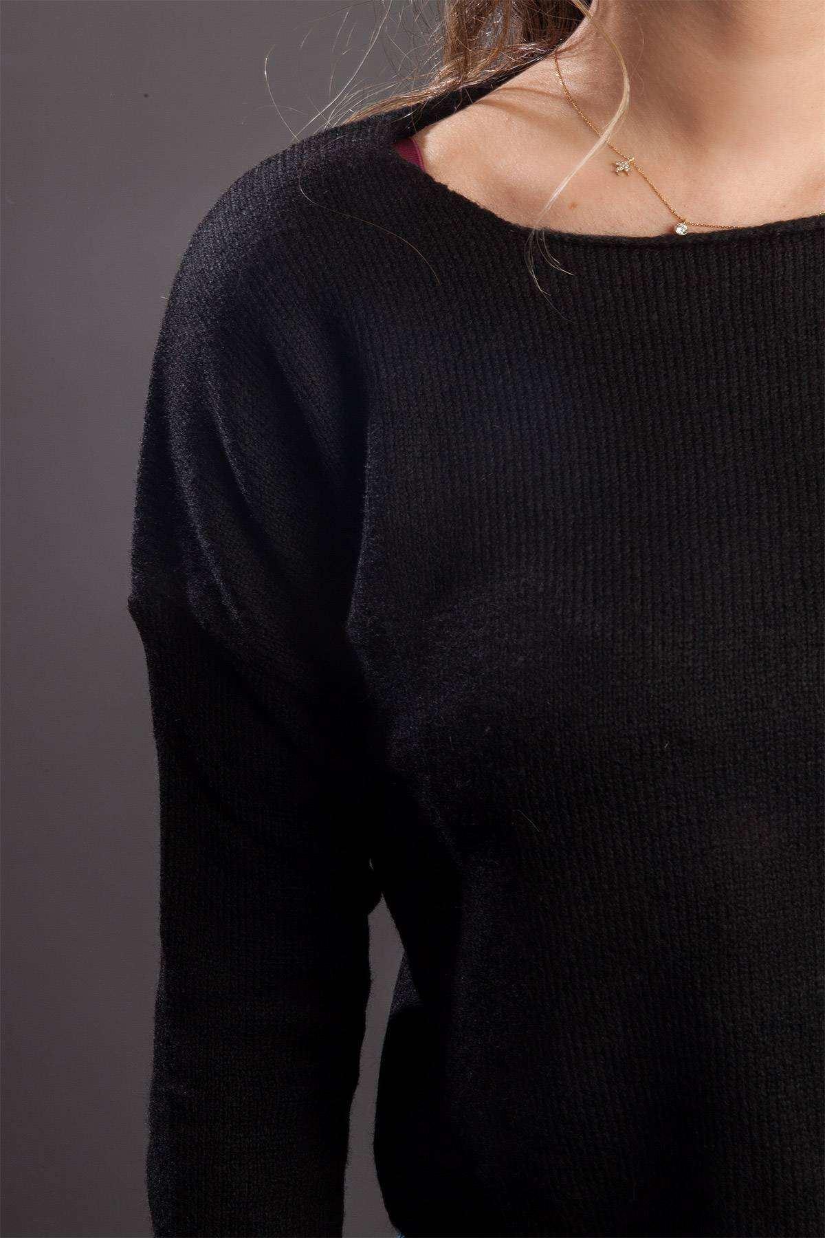 Basic Kısa Triko Siyah