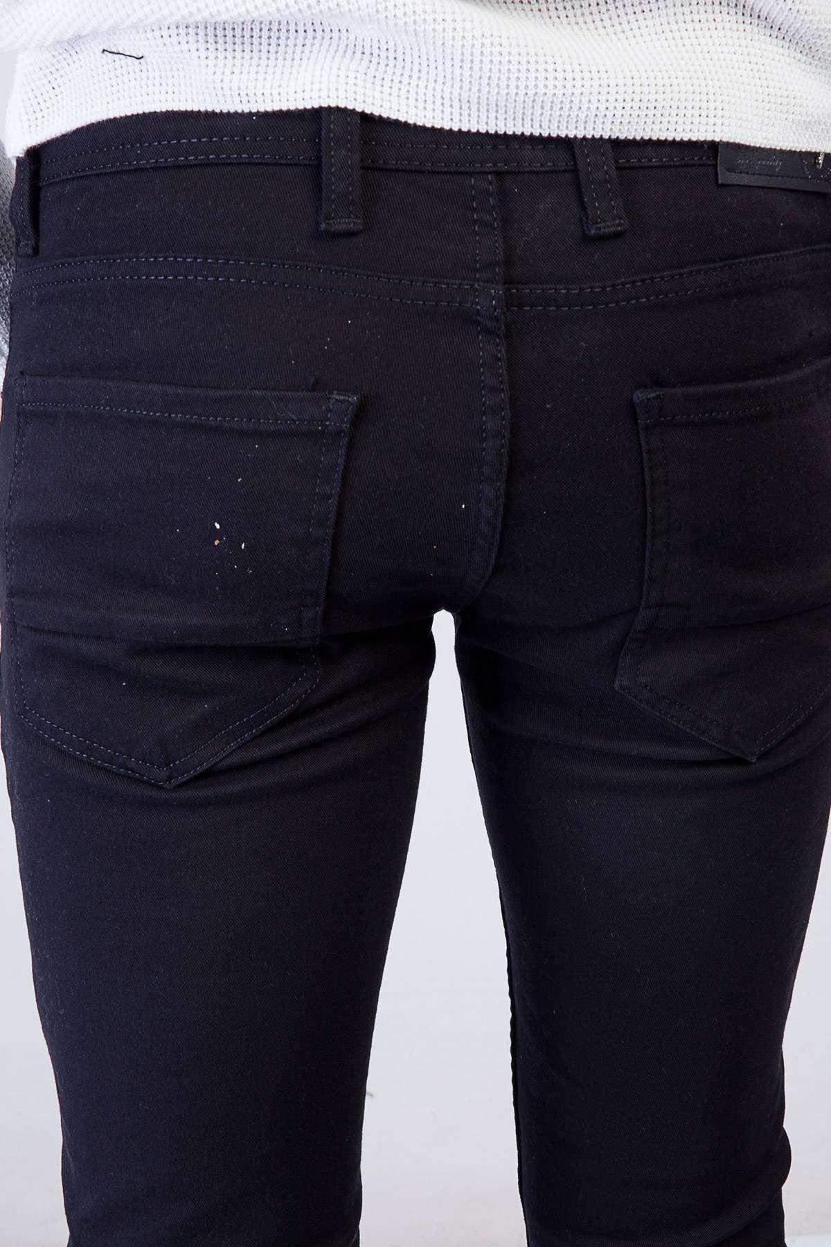 Basic Kot Pantolon Siyah