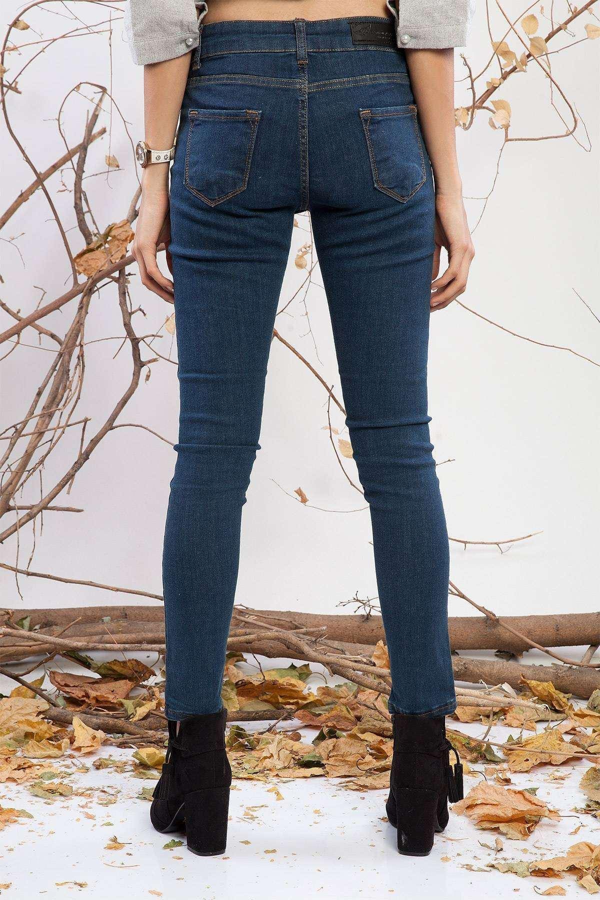 Basic Skinny Kot Pantolon Laci