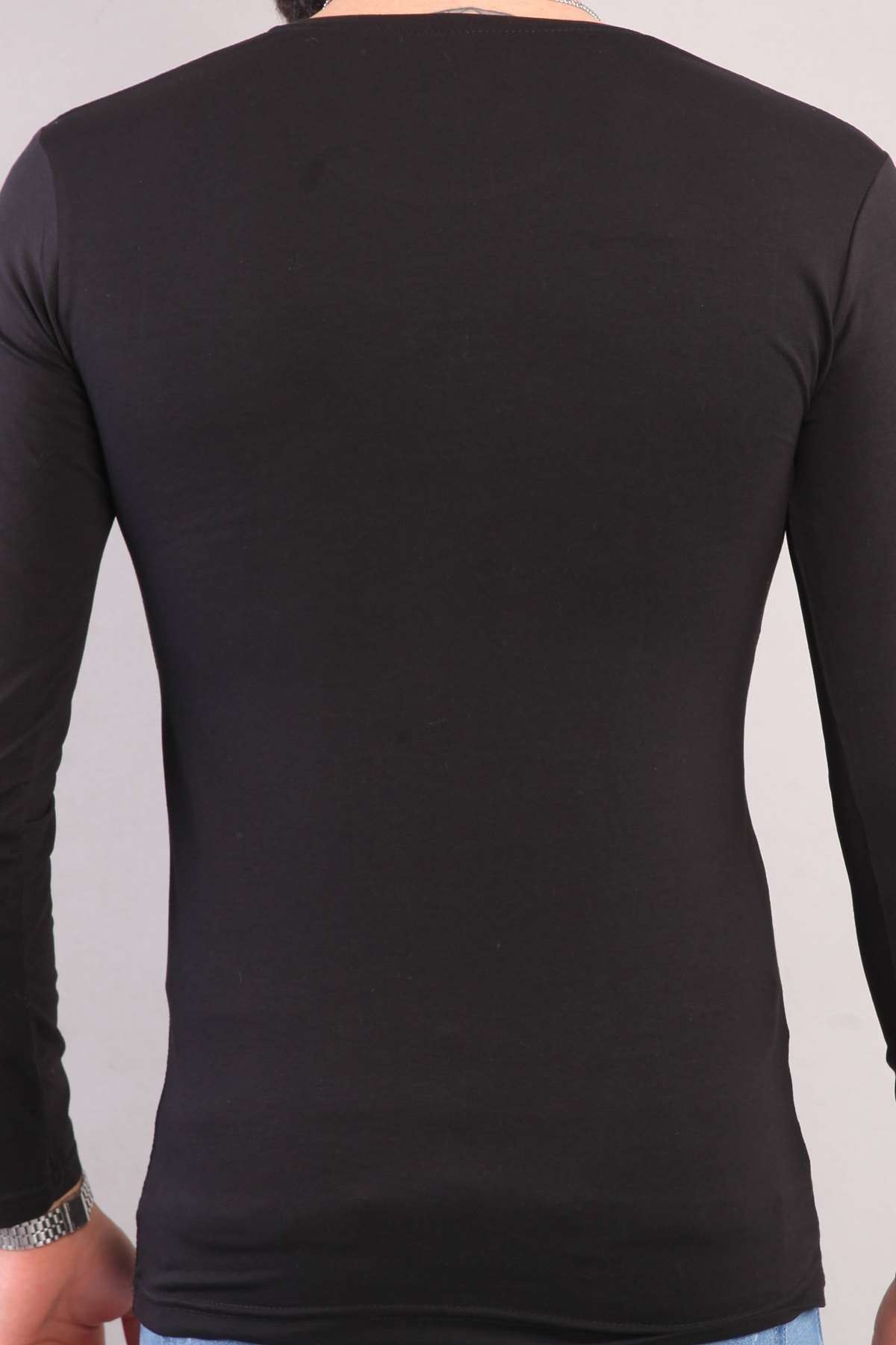 Pubg Yazılı Kuru Kafa Silah Baskılı Sweatshirt Siyah